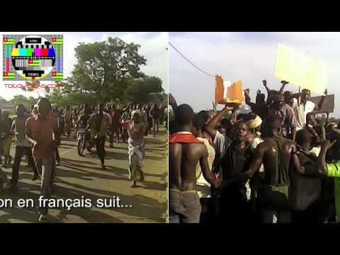 Témoignage d'un citoyen à Mango sur les affrontements entre la population et les militaires