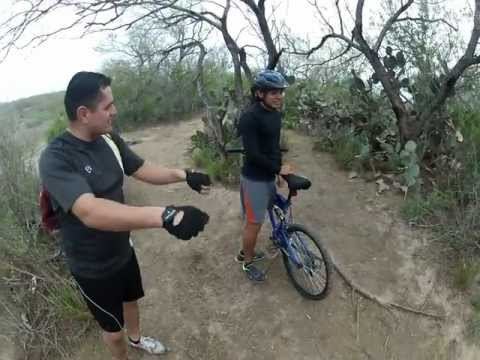 GoPro Hero 2 Mission, Tx Bike Trails Steep Hill