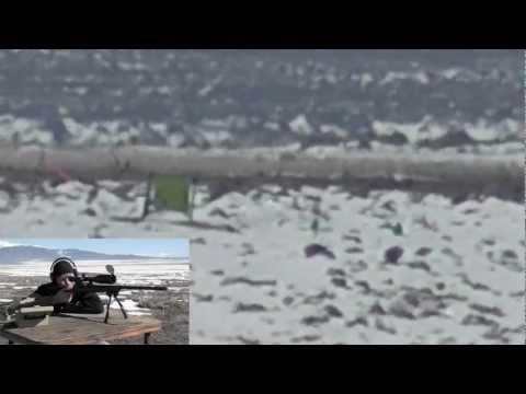 Long Range Shooting 1260 yards at Milk Jug w/ Target Cam - 300 Win Mag - See 208 AMAX in Flight