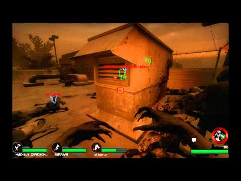 Left 4 Dead 2 Versus Dark Carnival - CAMARON Durmiendo [Video Completo]