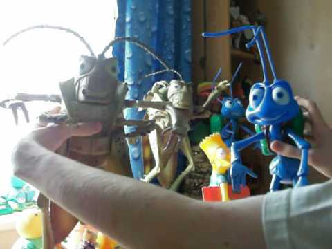 A Bugs Life - Talking Flik and Hopper Figures. Aug 25, 2009 8:35 AM