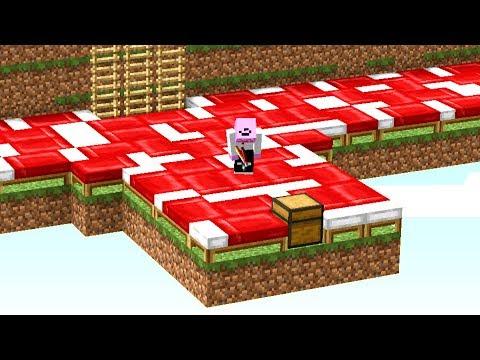 Er weiß nicht, welches Bett mir gehört😂👌💯.. Minecraft LUCKY BLOCK BEDWARS