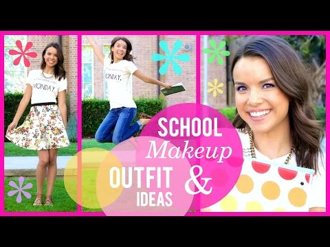 Back To School Makeup + Outfit Ideas 2014!