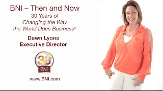 BNI® Executive Director Dawn Lyons Revels in