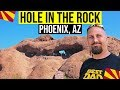 Papago Park, Phoenix, AZ (Hole in the Rock) | Things to do in Phoenix Arizona