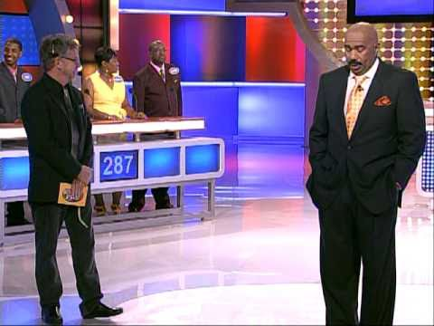 Family Feud Birthday Surprise with Steve Harvey