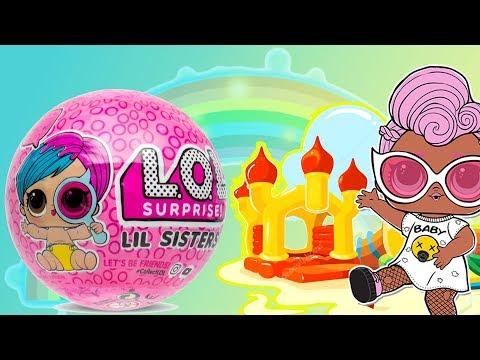 LOL Surprise Lil Sisters • Plac Zabaw • Bajki Dla Dzieci