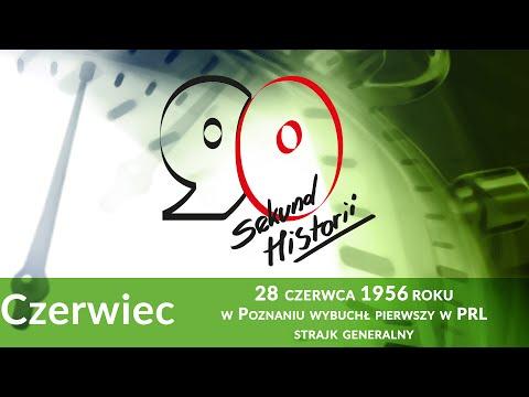 90s. Historii: 28 Czerwca 1956 R. W Poznaniu Wybuchł Pierwszy W PRL Strajk Generalny