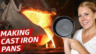 How Cast Iron Pans Are Made — How to Make It