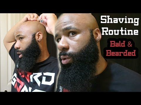 Bald And Bearded Shaving Routine | Shave Secret(s)