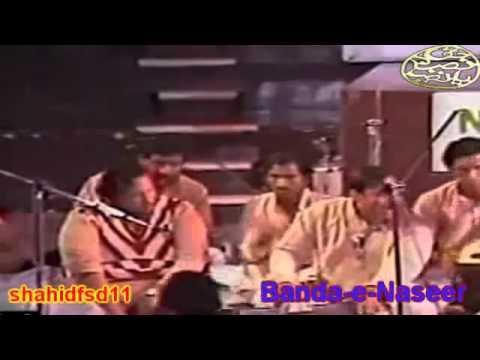 Shah e mardane ALI HAQ ALI ALI King of Qawali Nusrat Fathe Ali...