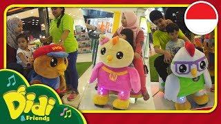 Didi & Friends Indonesia | Wahana Anak Kecil Bertema Didi & Friends - ZooMoov