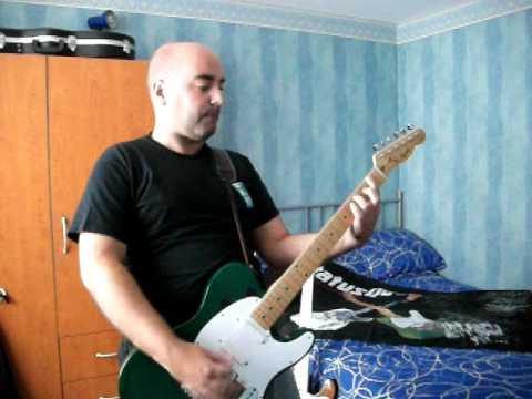 Status Quo - Caroline Live (NEC 2008) - Guitar Cover - Francis Rossi Part