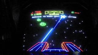 Atari The Empire Strikes Back Arcade Game Review - 1985