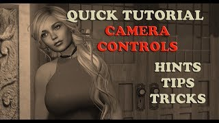 Second Life Tutorial ~ Camera Controls ~ Firestorm Viewer