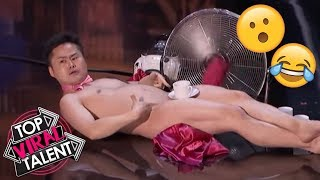 "Top 3 Men's ""UNEXPECTED & SHOCKING"" Moments EVER That Will BLOW YOUR MIND - Got Talent World!"