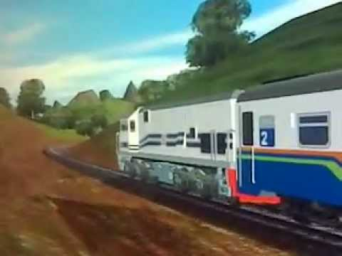 Train Simulator 2009 add-ons Indonesian