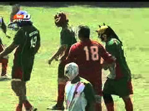 ¡La 'cascarita' del año: Luchadores del CMLL vs Sindicato de Petroleros! (05-09-2012)