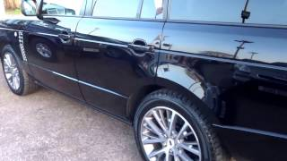 Country Car Barford Warwickshire RANGE ROVER VOGUE AUTOBIOGRAPHY BLACK LIMITED EDTION