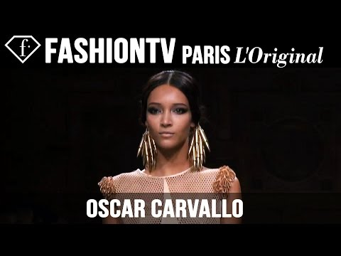 Oscar Carvallo Haute Couture | Paris Couture Fashion Week Fall/Winter 2014-15 | FashionTV