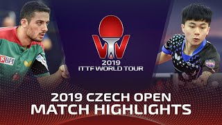 Lin Yun-Ju vs Marcos Freitas | 2019 ITTF Czech Open Highlights (R16)