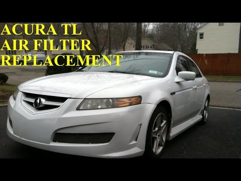 Acura TL Air Filter Element Replacement