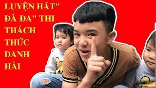 """Luyện Hát """" Đà Đa"""" Thi Thách Thức Danh Hài ❤ Umbala Kids ❤"""