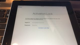 Unlock Fully iCloud Account iPhone iPad IOS 10.2 Activation lock screen