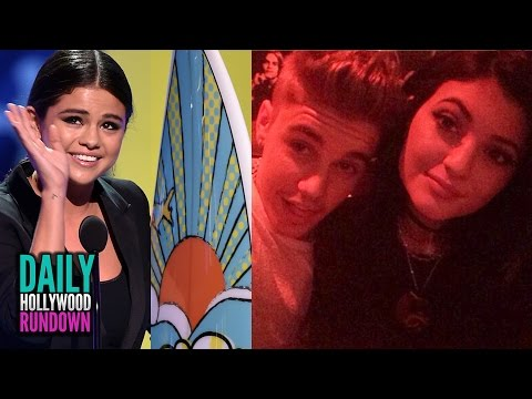 2014 Teen Choice Award Highlights- Justin Bieber Flirts w/ Kylie Jenner On Her Birthday (DHR)