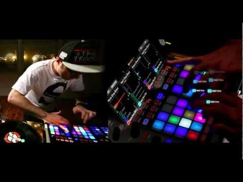 Traktor Kontrol F1 - Scratch Clips w/ Shiftee and Greg Nice