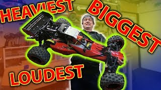 Dirt Cheap MASSIVE Petrol RC Car ***RIP HEADPHONE USERS*** Rovan 29cc Baja