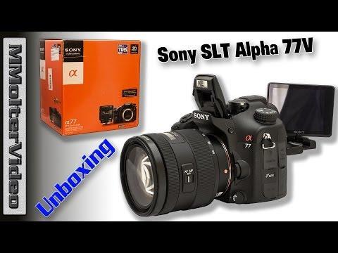 Sony Alpha 77 Unboxing Deutsch Von MMolterVideo