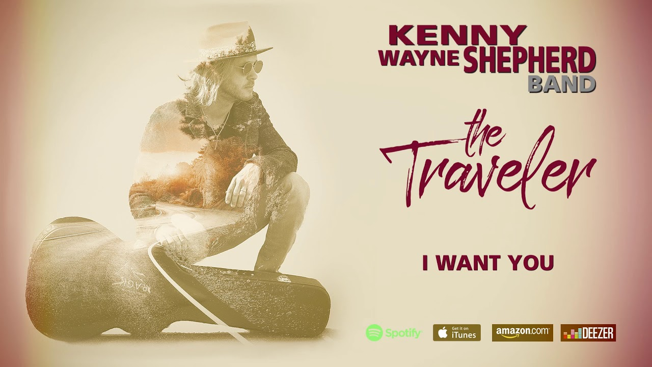 "Kenny Wayne Shepherd - ""I Want You""の試聴音源とTrack Descriptionを公開 新譜「The Traveler」2019年5月31日発売予定収録曲 thm Music info Clip"