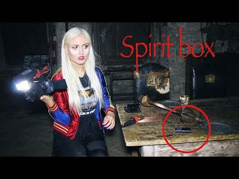 Scary Paranormal Investigation at Haunted Castle! Real Ghost Footage