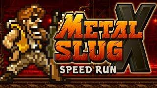 "METAL SLUG X - ""ALL SECRETS"" Speed RuN"