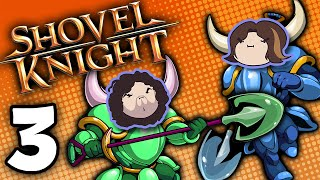 Shovel Knight Co-Op: Diggin' for Chicken - PART 3 - Game Grumps