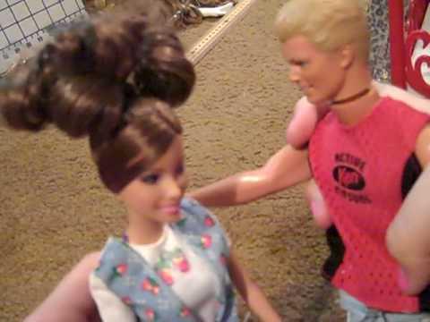 A Home Made Barbie Movie video