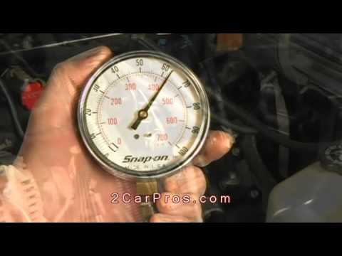 Fuel Pump Pressure Regulator Test - Most Cars
