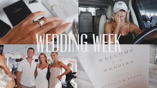 vlog: WEDDING WEEK | wedding prep & writing vows *emotional*