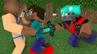 Monster School : Steav life vs Cute girl Part (3)- Minecraft Animation