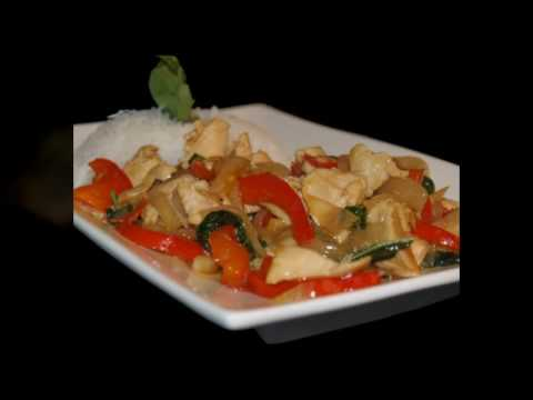 0 THAI FOOD Spicy Basil Chicken Recipe