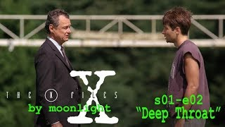 "X-Files by Moonlight: Season 1, Episode 2 ""Deep Throat"" Reaction with Spoilers"