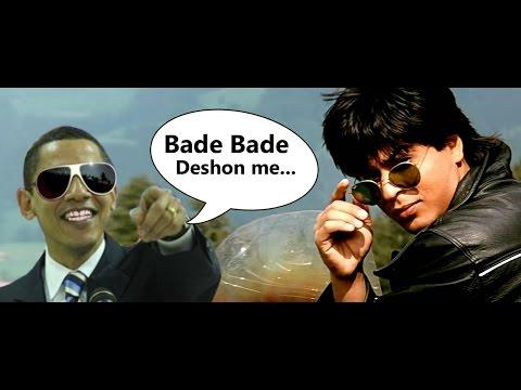 Obama Speaks Shahrukh khan
