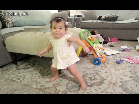 CUTEST DANCING BABY!!! - August 24, 2013 - itsJudysLife Vlog