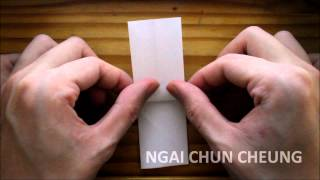 Origami Cross (tutorial)