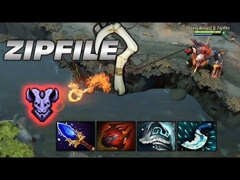ZIP FILE PUDGE [So much meat, so little time] Dota 2