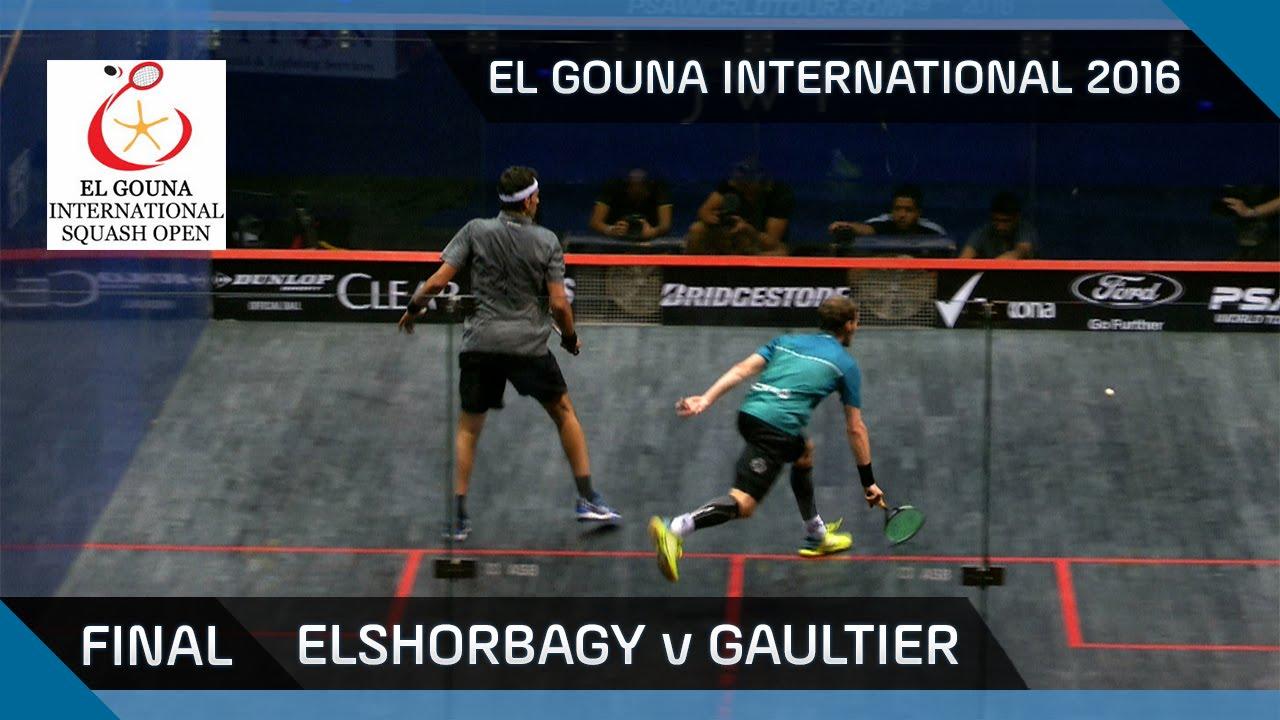 Squash: Mo. Elshorbagy v Gaultier - El Gouna International 2016 Final Highlights