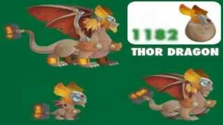 Dragon City-Unreleased Dragons#1!(Night wind,thor...)
