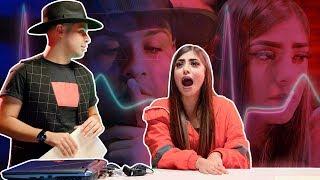 YouTubers VS Detector de Mentiras | Andrea Zúñiga