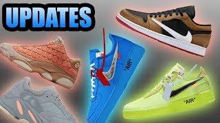Blue Off White Air Force 1 | Cactus Jack Jordan 1 Low | Sneaker Updates 17